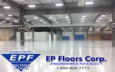 Warehouse Urethane Flooring