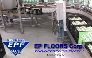 Food Processing Flooring Overlay Brick and Tile
