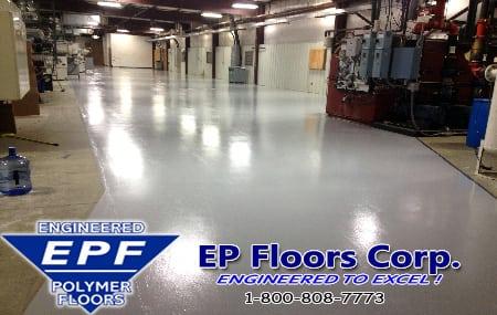 Industrial Manufacturing Epoxy Flooring