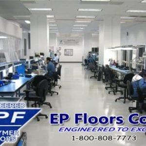 ESD industrial epoxy concrete floor coating