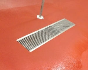 how to install a new floor drain-installation-epoxy-flooring