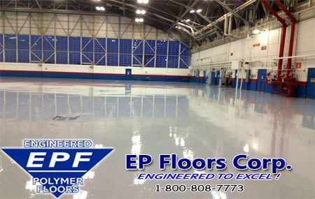 airplane hangar floor coating services by ep floors
