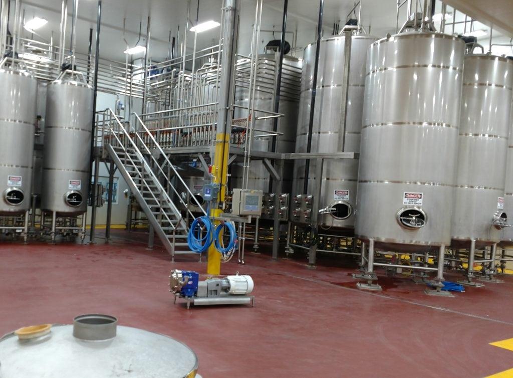 Urethane Mortar Flooring | Food and beverage processing