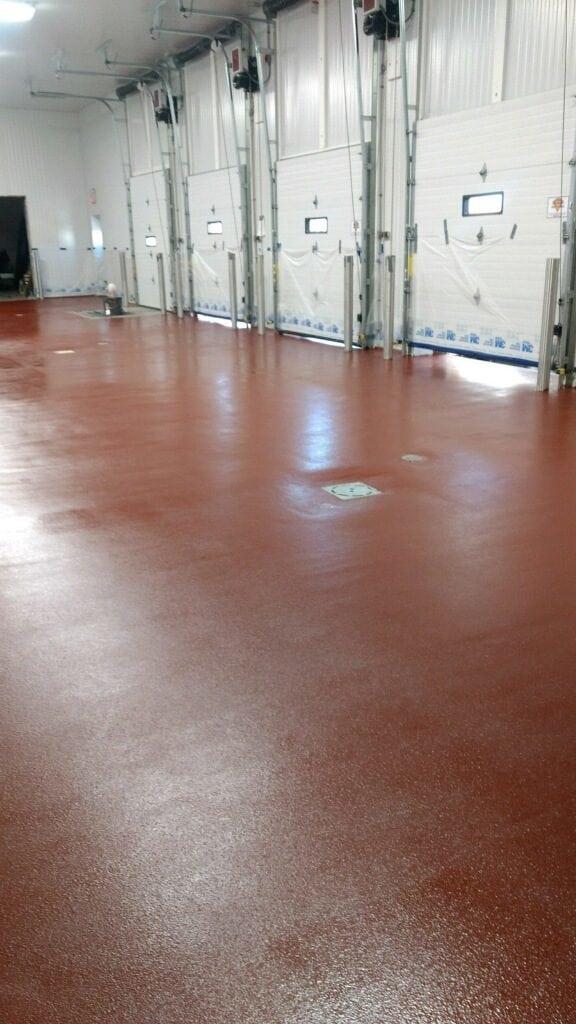 Urethane Mortar Flooring Food And Beverage Processing
