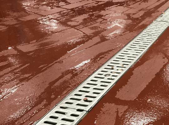 meat cooler flooring