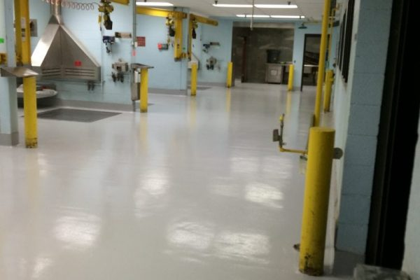 urethane mortar floor