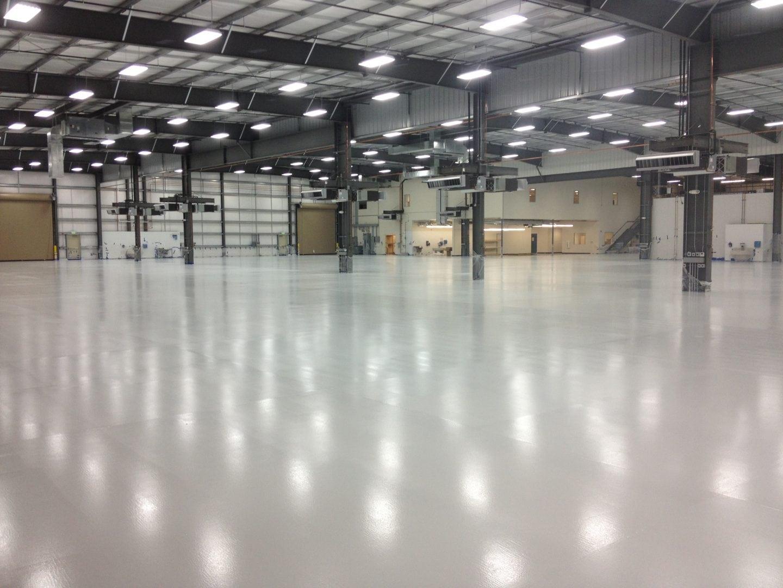 hangar floor