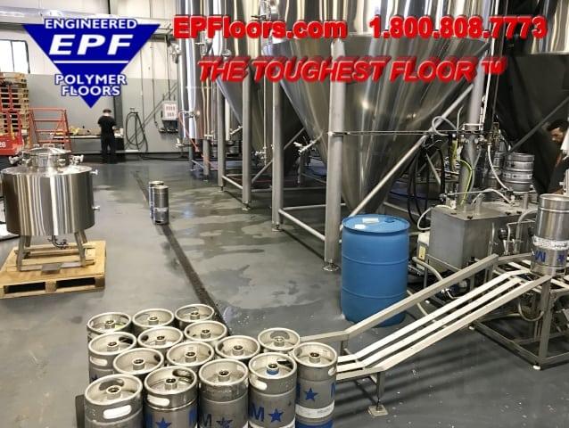 epoxy floor brewery