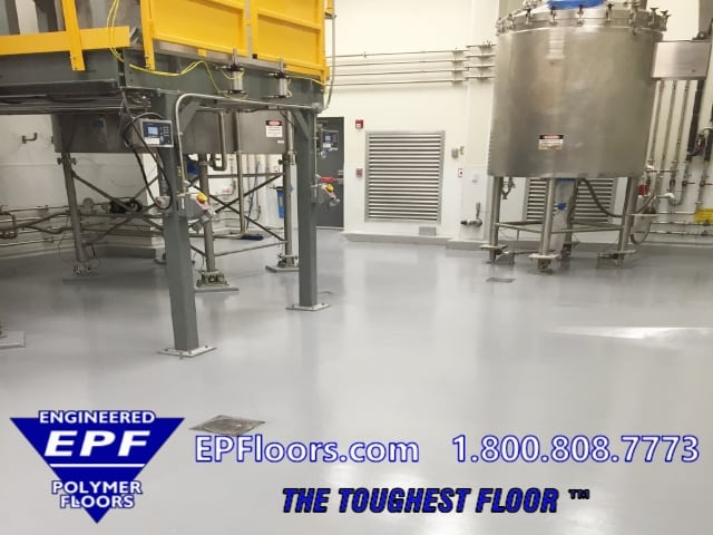 pharmaceutical process floor