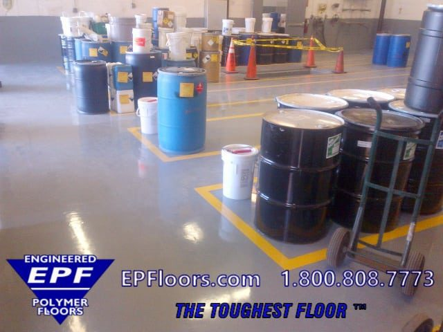 pharmaceutical floor systems