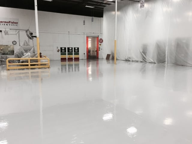 epoxy warehouse flooring