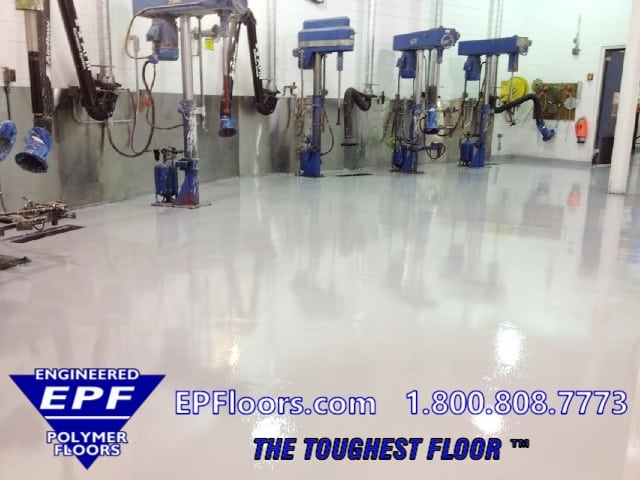 urethane pharmaceutical floor