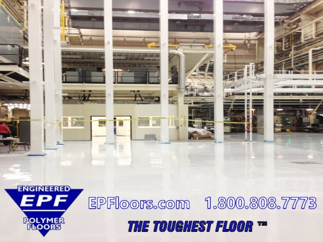 cleanroom epoxy floor