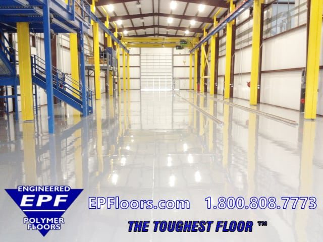 epoxy clean room flooring
