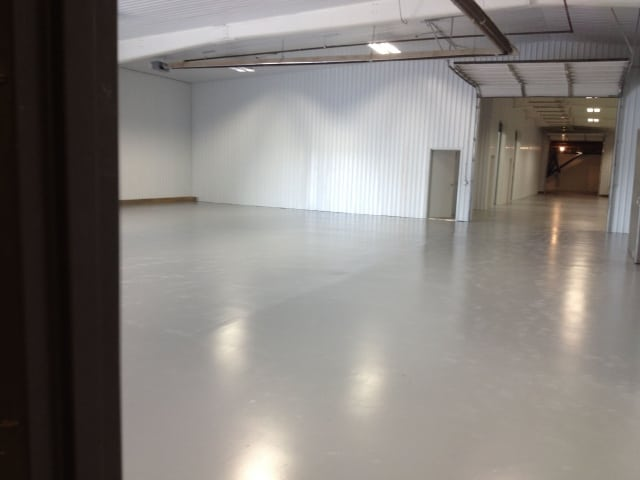 warehouse floor coating system