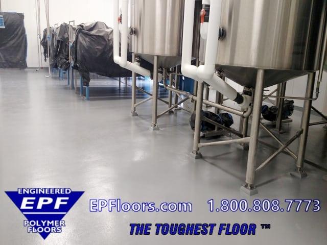 urethane and epoxy industrial floor