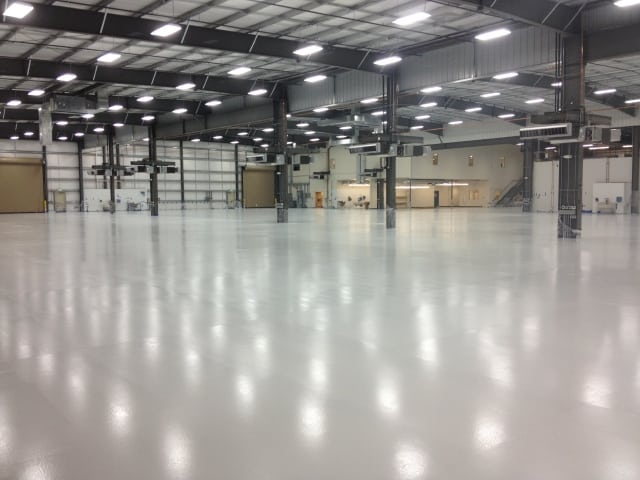 warehouse industrial floor