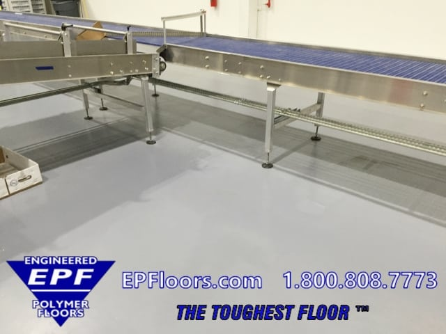 epoxy bakery floor