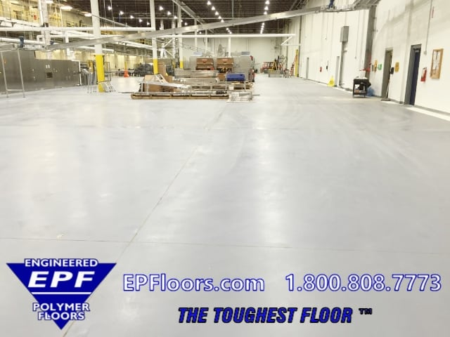 bakery epoxy flooring