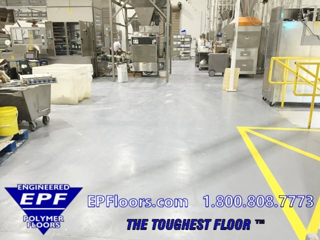 epoxy bakery flooring