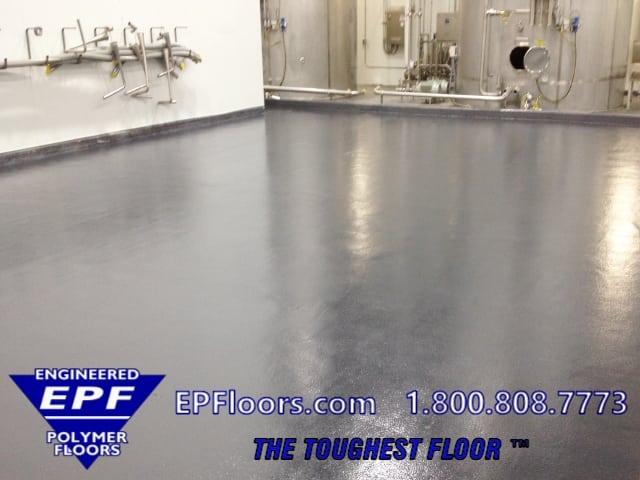 food and beverage epoxy floor