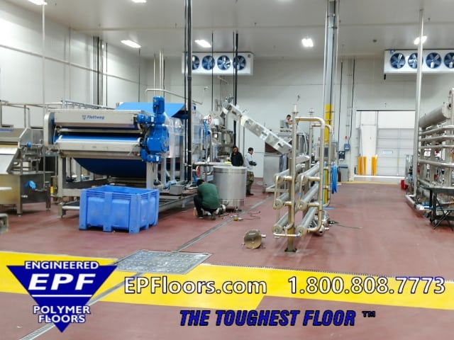 food and beverage flooring solutions by EPF