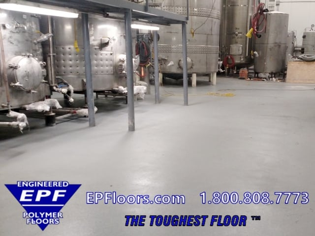 epoxy beverage flooring