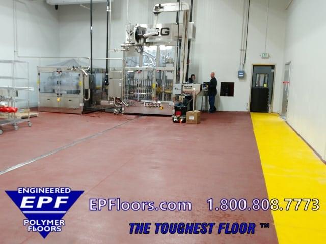 urethane beverage floor