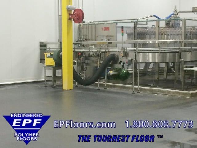 food processing floor options