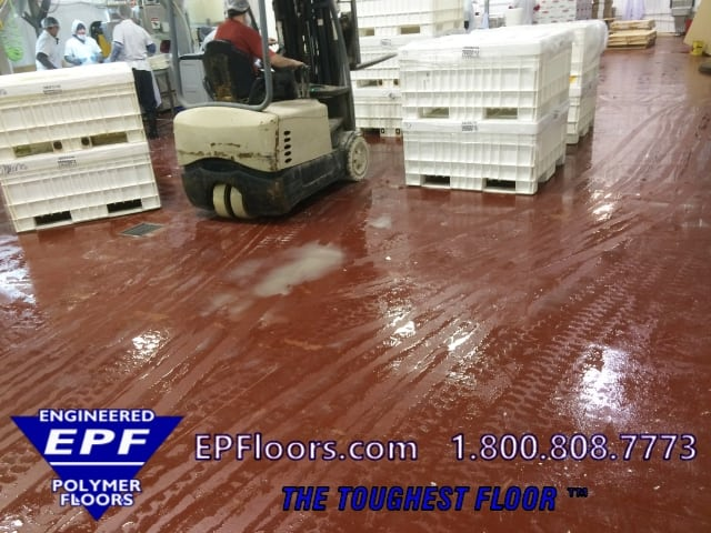 dairy processing plant flooring urethane flooring