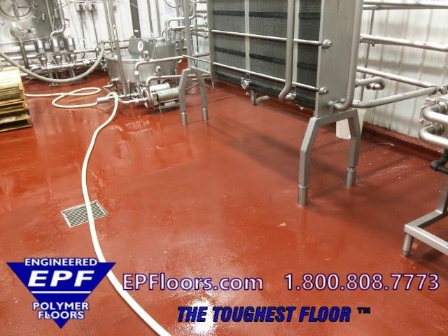 dairy drink floor