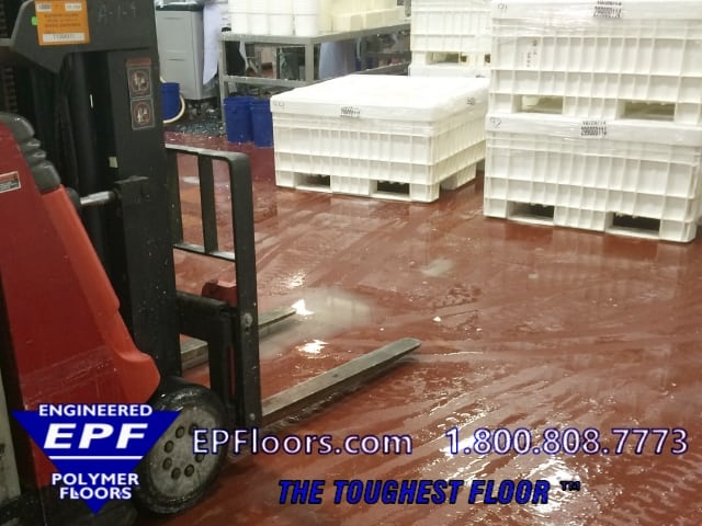 dairy urethane floor