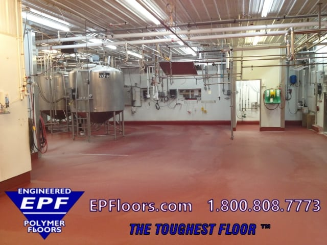 dairy epoxy flooring