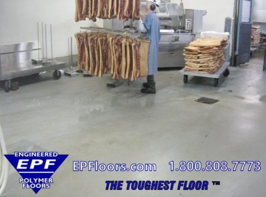 meat plant floor