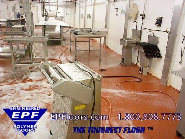 epoxy meat processing floor