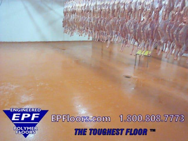 urethane meat floor