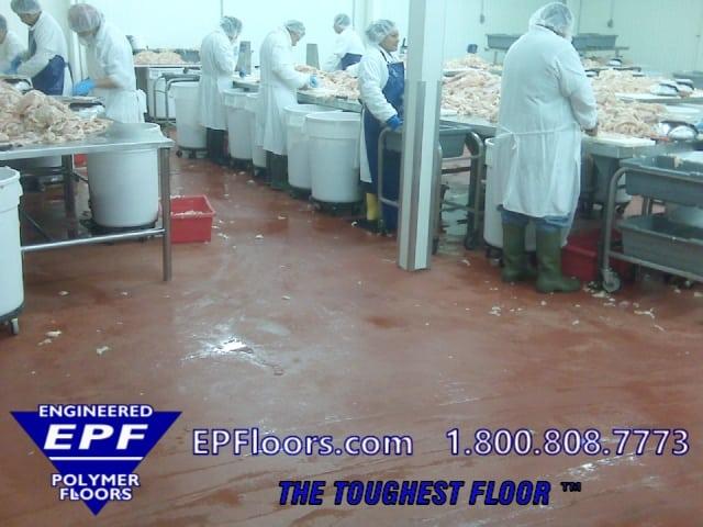 usda meat floor