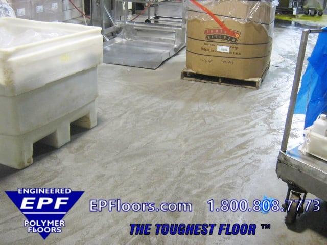 meat processing floors