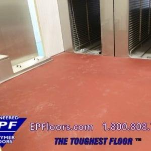 meat cooler poultry floor