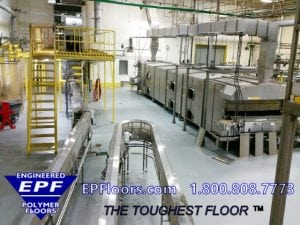 industrial flooring installation