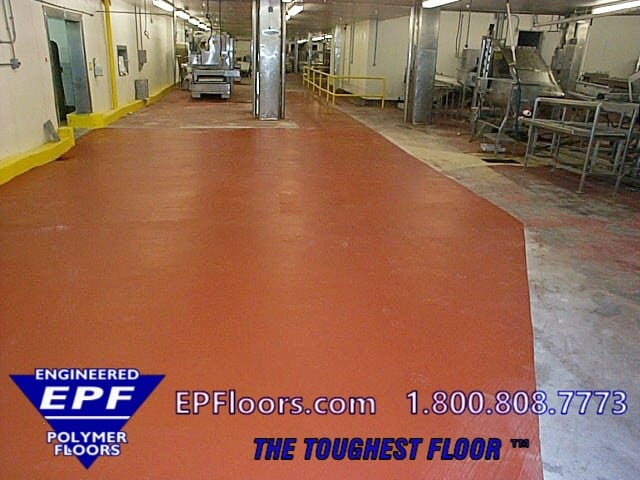 seafood floor coating
