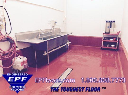 meat kitchen floor