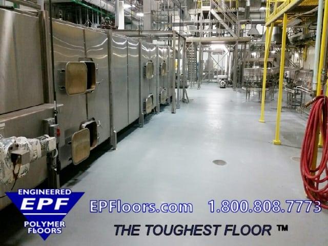 urethane and epoxy floor