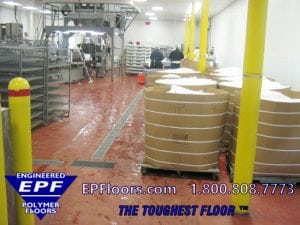 seafood processing plant floors