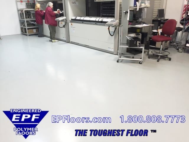clean room floor coatings