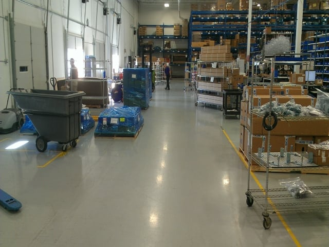 epoxy warehouse floor