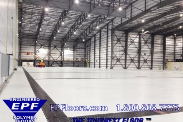 Epoxy Flooring Industrial Manufacturing Plants