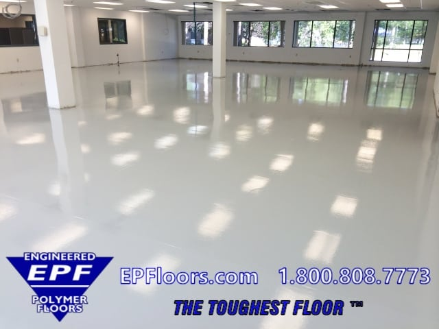 industrial clean room floor