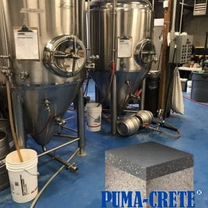 pumacrete for brewery flooring