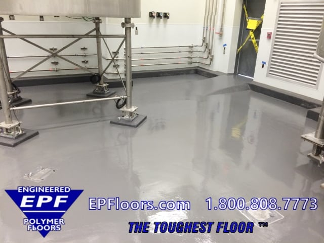 chemical processing floor